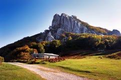 Refugio en montaña Imagenes de archivo