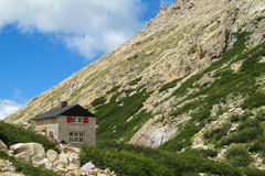 Refugio Frey w Bariloche obraz stock