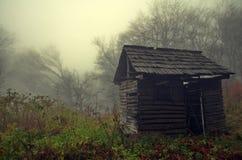 Refugio místico abandonado Fotos de archivo libres de regalías