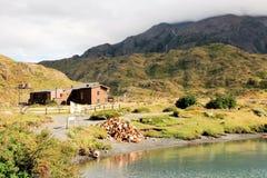 Refugio Paine Grande - Torres del Paine National Park - Chilean Patagonia Stock Images