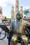 Refugio Reyes statua przed świętego Anthony kościół Obraz Stock