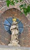 Refugio u Onze-Lieve-Vrouw van Toevluchtskapel en Amberes, Bélgica Fotografía de archivo libre de regalías