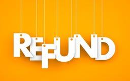 refund Στοκ εικόνα με δικαίωμα ελεύθερης χρήσης