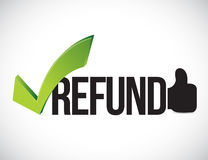 Refund approved concept illustration graphic Stock Photo