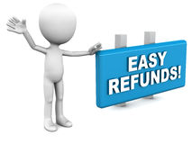 Refund Stock Image