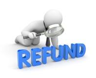 Refund Stock Image