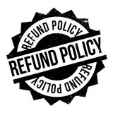 Refund Policy rubber stamp Stock Photos