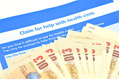 Refunded health costs Royalty Free Stock Photo