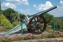 Refurbished Cannon Royalty Free Stock Photography