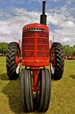 Refurbished Farmall Tractor. MADISON,SOUTH DAKOTA, August 22, 2014 ;  Each year on the 3rd weekend of August Prairie Village Heritage Days come alive with Royalty Free Stock Photos