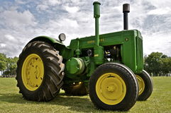 Refurbished John Deere D Stock Photos