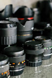 Refurbished lens Stock Photography