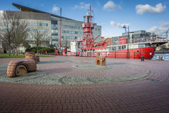 Refurbished Lightship Royalty Free Stock Photos