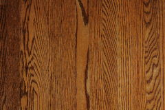 Refurbished Oak Hardwood Floor Royalty Free Stock Photos
