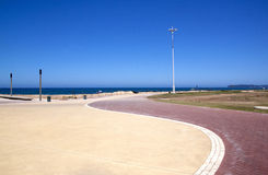Refurbished Promenade at Beachfront, Durban South Africa Stock Image