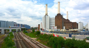 Refurbishment of Battersea Power Station Stock Image