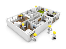 Refurbishment concept Royalty Free Stock Image
