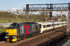 Refurshment train Royalty Free Stock Images