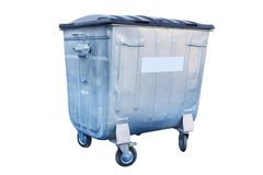 Refuse bin Royalty Free Stock Images