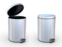 Refuse bin Royalty Free Stock Image