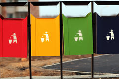 Refuse bins Royalty Free Stock Images