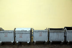 Refuse bins Royalty Free Stock Image