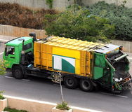 Refuse collection lorry/truck Royalty Free Stock Photo