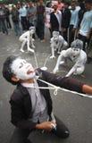 Refuse obama visit to indonesia Stock Photo