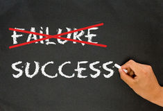 Refuse to accept failure Stock Photos