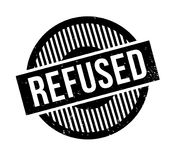 Refused rubber stamp. Grunge design with dust scratches. Effects can be easily removed for a clean, crisp look. Color is easily changed Royalty Free Stock Photography