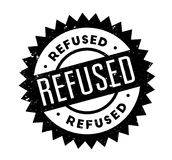Refused rubber stamp. Grunge design with dust scratches. Effects can be easily removed for a clean, crisp look. Color is easily changed Stock Image