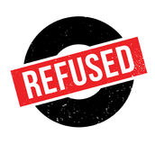 Refused rubber stamp Stock Photos