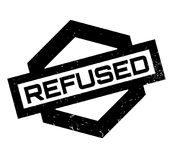 Refused rubber stamp. Grunge design with dust scratches. Effects can be easily removed for a clean, crisp look. Color is easily changed Royalty Free Stock Photos