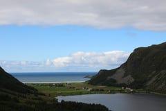 Refvik, Норвегия Стоковое фото RF