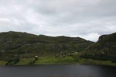 Refvikvatenet, Norvège Images stock