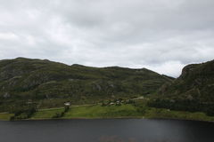 Refvikvatenet, Norwegen Stockbilder