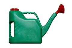 Regadera verde Imagen de archivo libre de regalías