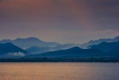 Regain et montagne Image libre de droits