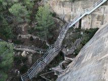 Regajo水坝的低部的看法 免版税图库摄影
