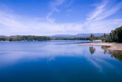 The Regajo reservoir Stock Image
