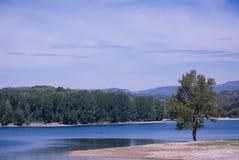 The Regajo reservoir Stock Photos