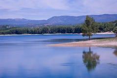 The Regajo reservoir Stock Photography