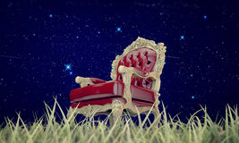 Regal armchair Stock Image