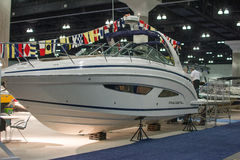 Regal boat on display at the Los Angeles Boat Show on February 7 Stock Photography
