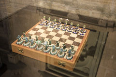 Regal Chessboard at Palace Royalty Free Stock Photo