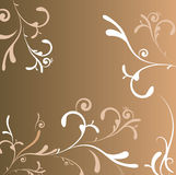 Regal decoration square Royalty Free Stock Photography