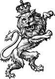Regal lion Royalty Free Stock Photos