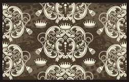 Regal pattern illustration Stock Image