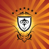 Regal shield Royalty Free Stock Photo