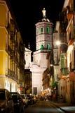 Regalado Straße in Valladolid stockfotos